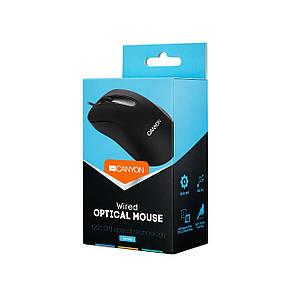 Миша Canyon CNE-CMS2 Black USB, фото 2