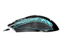 Мышь REAL-EL RM-503 Black USB, фото 2