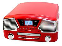 Ретро проигрыватель с записью   CAMRY CR1134  CD MP3 USB SD