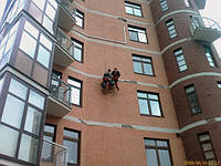Окраска высотных сооружений (фасады промышленных сооружений, жилых домов, торговых комплексов)