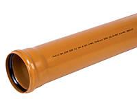 Труба канализационная 110*500мм для наружных работ Pestan Сербия фасадная SDR 41 SN4