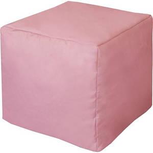 Пуф куб  40см *40 см  ( Оксфорд ) рожевий