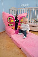 """Мягкое кресло для девочки """" бабочка """""""