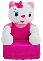 """Мягкое кресло для девочки"""" HELLO KITTI"""""""