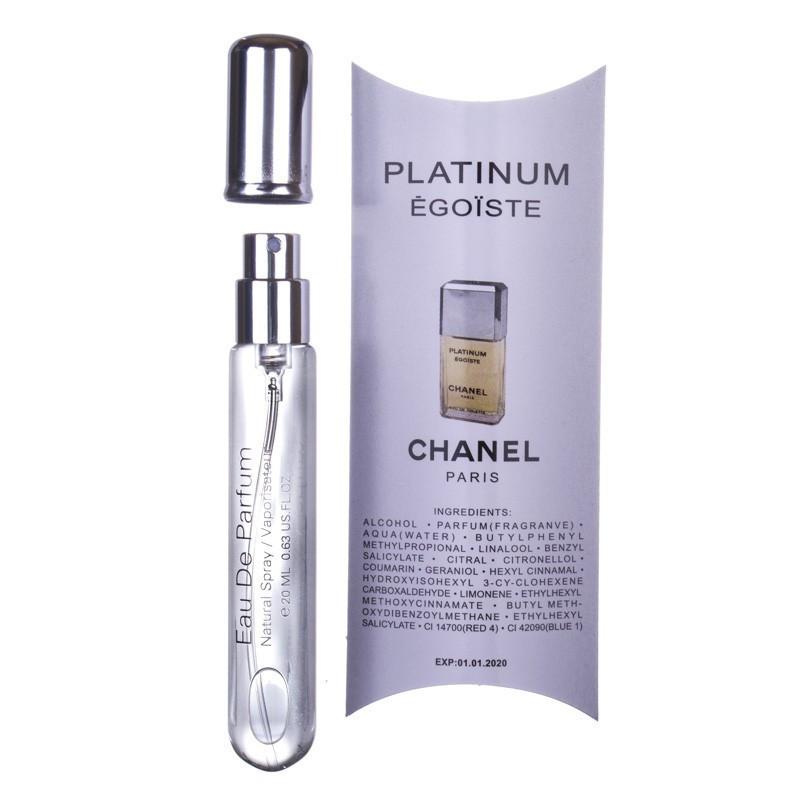 Chanel Egoiste Platinum - Pen Tube 20ml