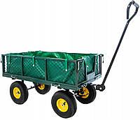 Садовая тележка-прицеп, нагрузка до 600 кг