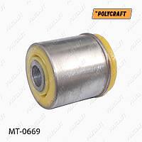 Полиуретановый сайлентблок задней балки (передний) GRANDIS,4100A011, MAB147