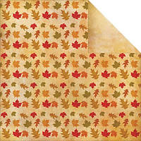 Бумага Reminisce, Harvest 2014 - Autumn Leaves, 30x30 см, 1 шт