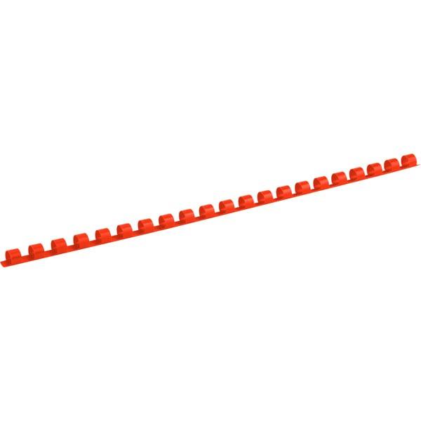Пружина пластиковая d 8 мм, красная, 100 шт.