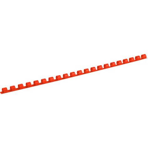 Пружина пластиковая d 8 мм, красная, 100 шт., фото 2