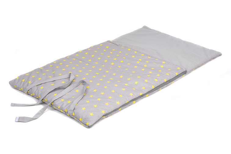 Сліп (конверт) для немовляти 195*65 см Зірки на сірому