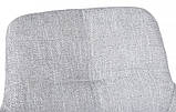 Стул барный OLIVA (Олива) светло-серый рогожка Nicolas, фото 6