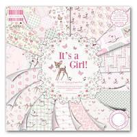 Набор бумаги First Edition - It's a Girl, 30×30 см