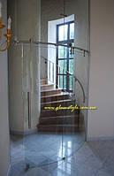 Стеклянные раздвижные двери Manet Радиусная