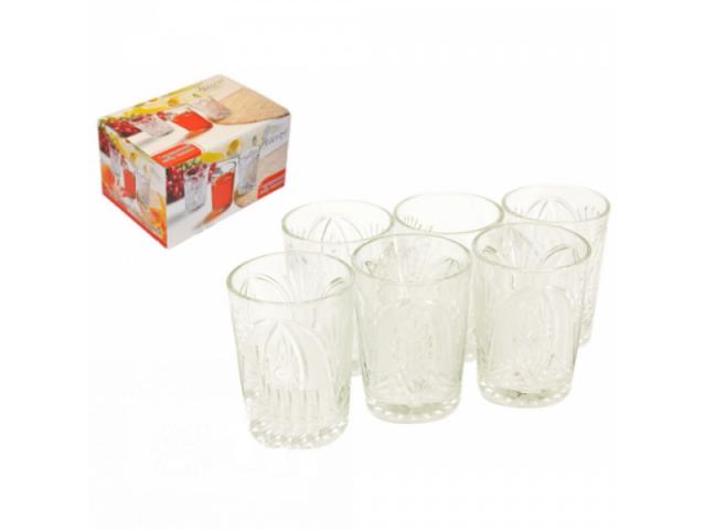 Набор стаканов Interos 7086 Хрусталь ( 200 мл)