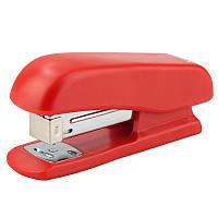 Степлер Standard пласт., №24/6, 20 л., красный