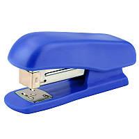 Степлер Standard пласт., №24/6, 20 л., синий