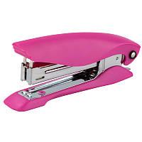 Степлер Ultra пласт., №24/6, 25 л., розовый