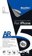 Защитная пленка Monifilm для iPhone 5/5S/5SE (front + back), AR - глянцевая (M-APL-I510)