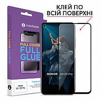 Защитное стекло MakeFuture для Huawei Honor 20/20 Pro Black Full Glue, 0.33 mm (MGF-H20)