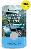 Защитное стекло MakeFuture для Huawei Y6 Prime 2018 White Full Glue, 0.33 mm, 2.5D (MGFCFG-HUY618PW)
