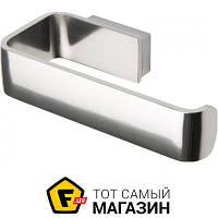 Держатель для туалетной бумаги для туалета - металл - Haceka Aline P (1194609) - металлик шуруп
