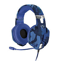 Гарнитура Trust GXT 322B Carus Gaming Headset for PS4 Blue (23249)