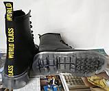 Легендарные! Dr. Martens Jadon демисезонные кожаные ботинки  на платформе с шнуровкой черные мартенсы, фото 8