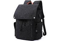 "Рюкзак для ноутбука Tangcool ICON TC713 Black 15"" (USB), фото 2"
