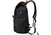 "Рюкзак для ноутбука Tangcool ICON TC713 Black 15"" (USB), фото 3"