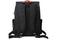 "Рюкзак для ноутбука Tangcool ICON TC713 Black 15"" (USB), фото 6"