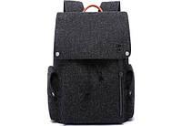 "Рюкзак для ноутбука Tangcool ICON TC713 Black 15"" (USB), фото 7"