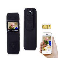 Мини камера wifi видеорегистратор портативный носимый Pomiacam BV01