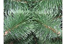 Новогодняя сосна 1,5 м +в подарок крепление (распущенная или с белыми кончиками), фото 3