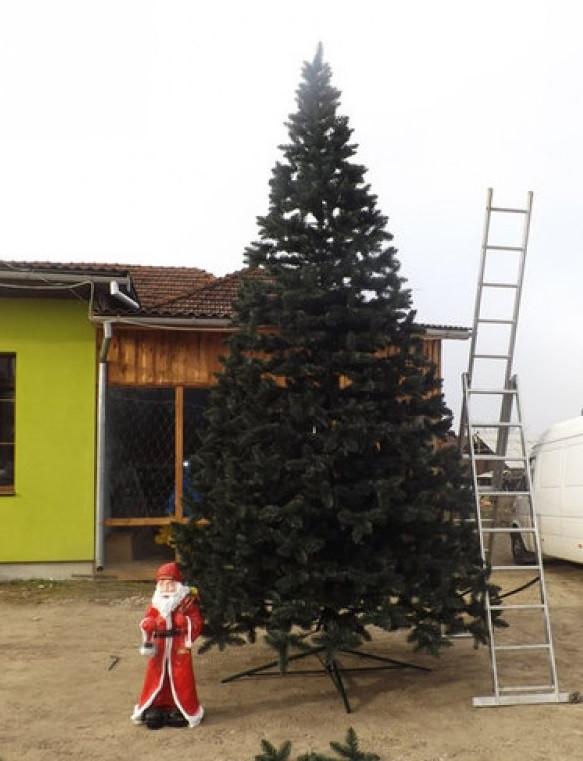 Искусственная елка 5 м для дома и учебных заведений