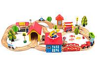 Детская деревянная железная дорога Railway