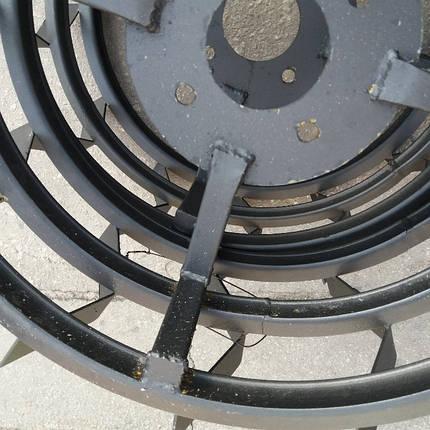 Грунтозацепы для мотоблока Ø 450 профтруба 10х10, фото 2