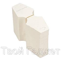 Бирка-подвеска для товара 12.3сm x 4.9сm (Цена за упаковку 200шт)