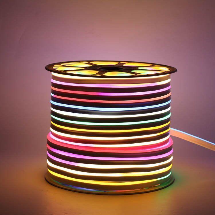 Светодиодный LED гибкий неон PROLUM 505060 IP68 24V RGB FULL COLOR IC1903 , RGB