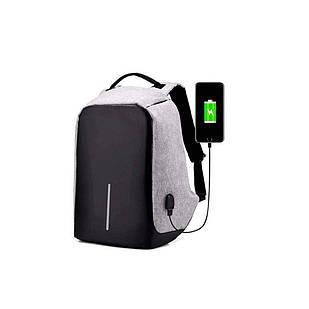 Рюкзак антивор Bobby Anti-theft Backpack USB / Travel Bag 9009 (4581)
