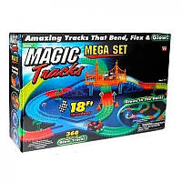 Гибкая гоночная трасса Magic Track 360 (Мэджик Трек) 360 деталей 2 машинки