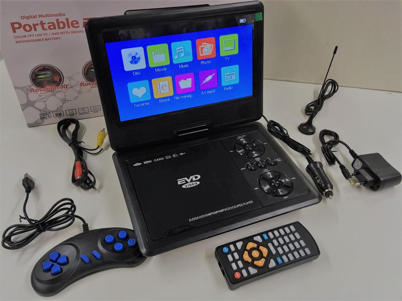 Портативный телевизор NS958H с DVD 9.8 дюйма