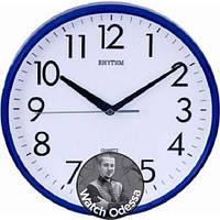 Настенные Часы RHYTHM 716 синие