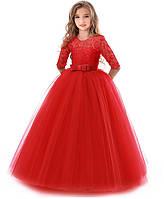 Платье детское нарядное пишное праздник сукня дитяча святкова на рост 120, 130  см