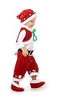 Детский карнавальный костюм Санта Клаус «Кроха» на рост 80-90 см
