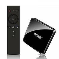 Mecool KM3 4/128 | DDR4 | Голосове керування | Android TV Box | Смарт ТВ Приставка (+ Налаштування)