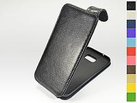 Откидной чехол из натуральной кожи для Samsung Galaxy S7 Edge G935f