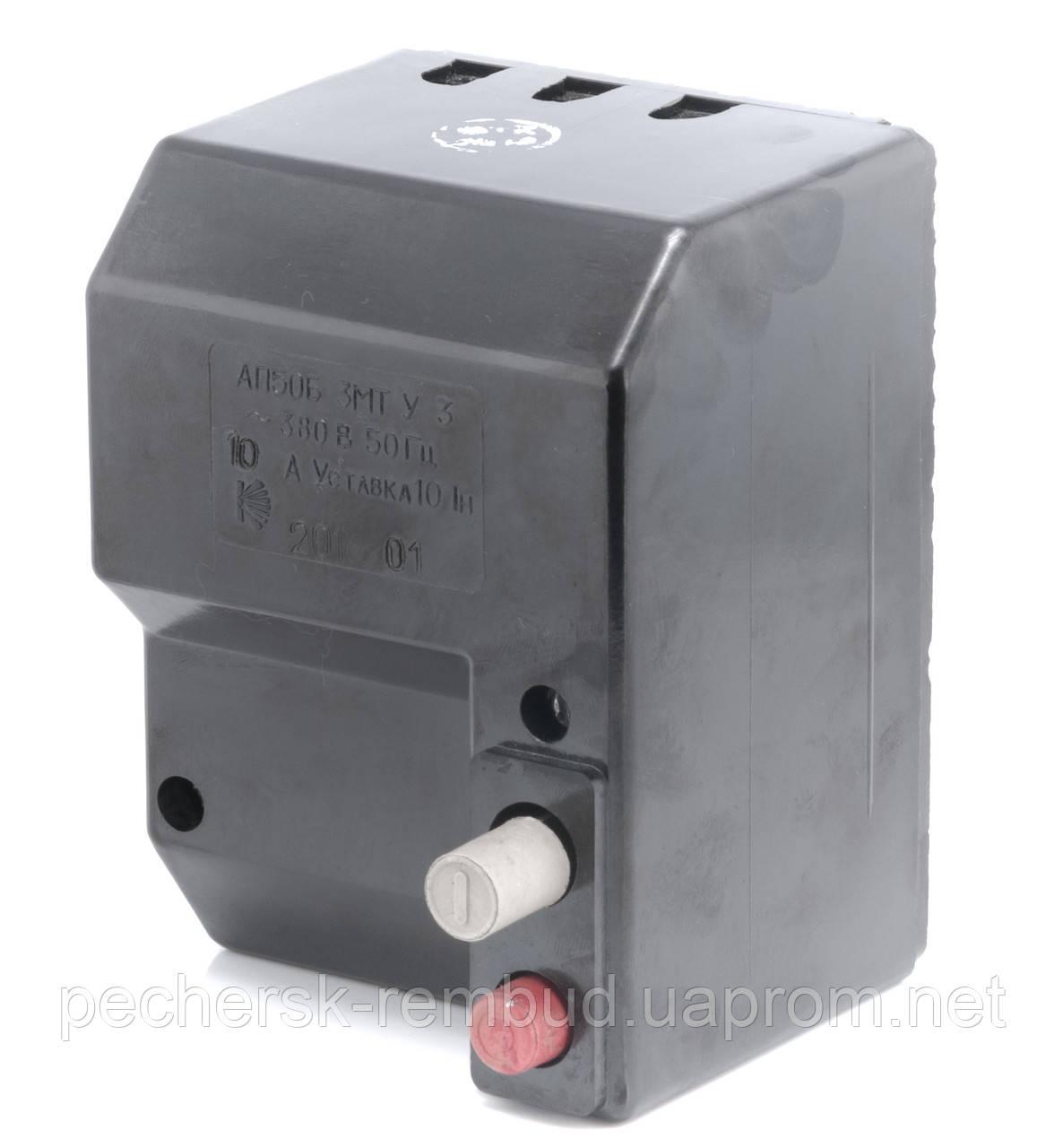 Автоматический выключатель . АП 50 3МТ 6.3А