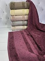 Набор бамбуковых полотенец (6 шт.), Pupilla Miasoft Irem 50х90 см. Турция