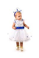 Детский карнавальный костюм Снежинка «Кроха» на рост 80-90 см, фото 1